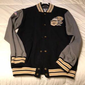 NFL Saints Men's small jacket